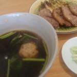 蕎麦 心空 - 鴨そば(滝川産鴨)1,900円