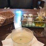 92531407 - アスパラの豆乳冷製スープ