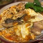鶏水炊き・焼鳥 健美宴 - 親子丼