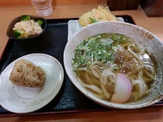 さぬきうどん大木戸 福岡舞鶴店 - ポテサラセット
