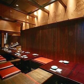 最大32名様までご利用可能な宴会個室をご用意!