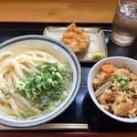 手打ちうどんますや - 料理写真:この週は1日1食週。昼にガッツリ溜め込みます!