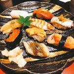 鮨・割烹 花絵巻 - お寿司は江戸前で醤油はありません(^^)