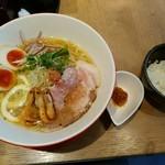 92534084 - 冷やし海老だしラーメン麺大盛系1000円