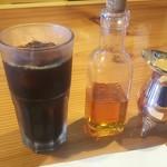 ステーキ杣 - 自家製ガムシロップとコーヒー