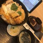とんかつ・天ぷら 華な美 - ランチのカツ丼