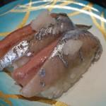 回転寿司 日本海 - 料理写真:サンマ。