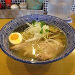 麺屋 まるきよ - しお(750円)