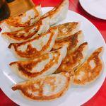 餃子の店 蘭州 - 焼き餃子  350円×2