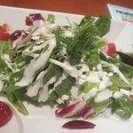9254873 - 10種類の野菜のサラダ(ドレッシング変更)