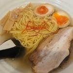 麺屋のろし - のろし塩ラーメン(ネギ抜き)+味玉