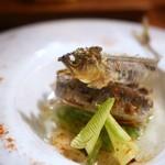 cenci - 賀茂茄子と鮎