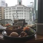 ラモ フルータス カフェ - テーブルからの眺め