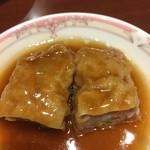 中国料理 梨杏 - 五目湯葉巻きオイスター蒸しです。