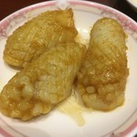 中国料理 梨杏 - 甲イカのカレー風味蒸しです。