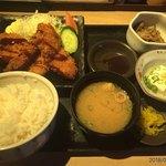 92546433 - ミックスフライ定食税込780円