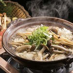 とうふ屋うかい - 秋の彩りきのこ鍋