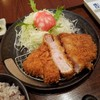 マ・メゾンのとんかつ - 料理写真:期間限定「ジュラシックロースかつ定食 (1480円)」