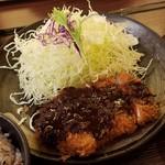 マ・メゾンのとんかつ - 名古屋飯の味噌カツ♪