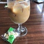 珈琲屋 鹿鳴館 - アイスコーヒー  お菓子付き