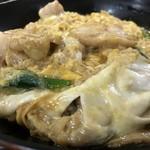 豊福 - トロトロ半熟卵の親子丼(2018.9.11)