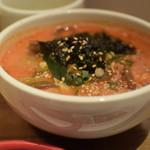 美食焼肉トラジ 葉菜 - 炎のユッケジャン麺