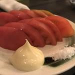 肉蔵でーぶ - 冷しトマト