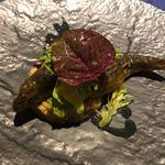 アプランドル - 岐阜県産鮎のコンフィー 茄子のマリネのサラダ