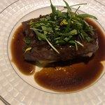 アプランドル - 鹿児島県産和牛ヒウチ肉 じゃがいものグラタン 赤ワインソース