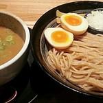 麺匠 たか松 - 【つけ麺(鶏魚介) 並盛 + 味付玉子】¥850 + ¥100