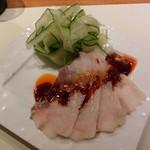 欣喜 - 料理写真:雲白肉