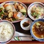がんこ一番 - 料理写真:「酢豚定食」1000円