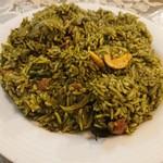 南インド プドゥチェリ - 料理写真:・Kirai Rice 600円