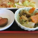 青林檎 - 日替わりの小鉢①