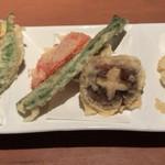 蕎肆 穂乃香 - 季節の野菜天ぷら