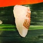 蛇の目寿し - 真鯛