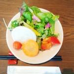 松本てらす - お代わり自由なサラダをどうぞ(╹◡╹)