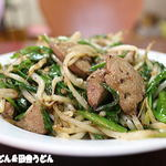 さかえ家 - 料理写真:レバニラ炒め