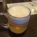 9257812 - 生ビールはハートランド(以下、写真悪くてすみません)