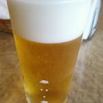 カンフォーラ - 生ビール600円