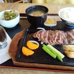 カンフォーラ - ランプステーキ定食2100円