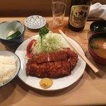 92572927 - ロースかつ定食