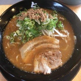らーめん与七 - 料理写真:味噌ラーメン