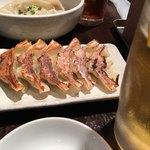 丸山餃子製作所 - せんべろセットの餃子