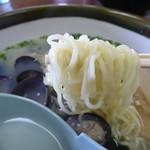 元祖しじみラーメン 和歌山 - 麺は共通