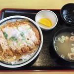 五百川食堂 - 煮込みカツ丼