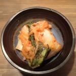 焼肉 あじと - 白菜キムチ