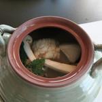 モリタ屋 - 30年9月 松茸と秋野菜の土瓶蒸し