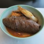 モリタ屋 - 30年9月 赤味モモ肉をすき焼きで