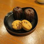 タワラ - 30年9月 カヌレ、クッキー